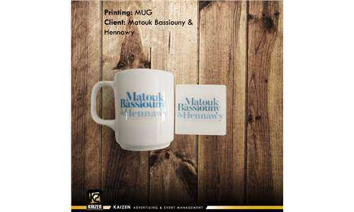 acrylic coasters - printed mug