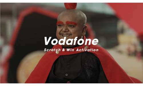Vodafone Egypt - Scratch & Win Activation