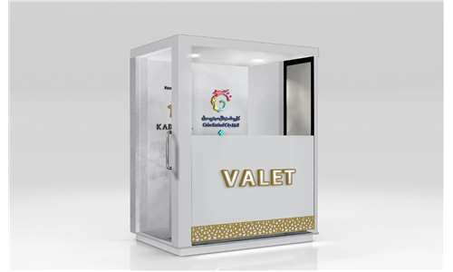 Valet Booth