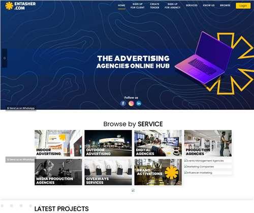 advertise on entaser.com