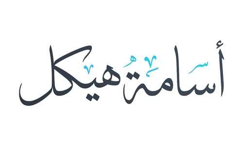 أ / أسامه هيكل وزير الاعلام المصرى