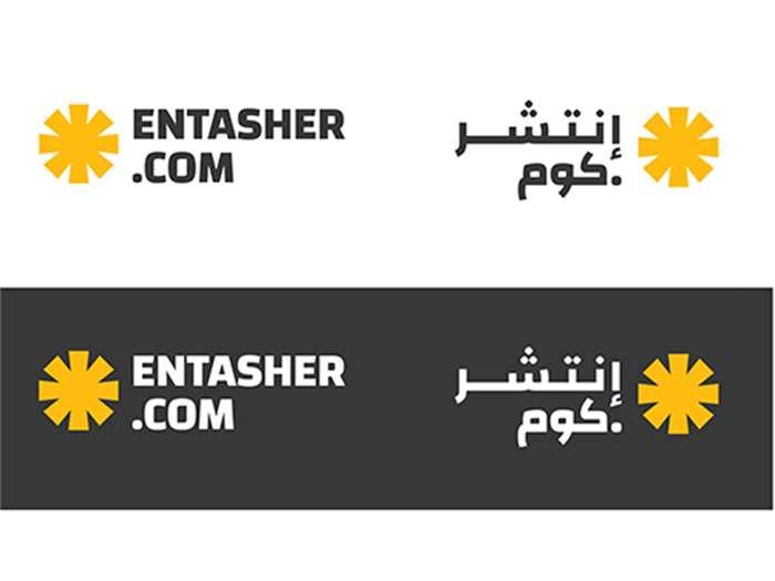 Branding for entasher.com