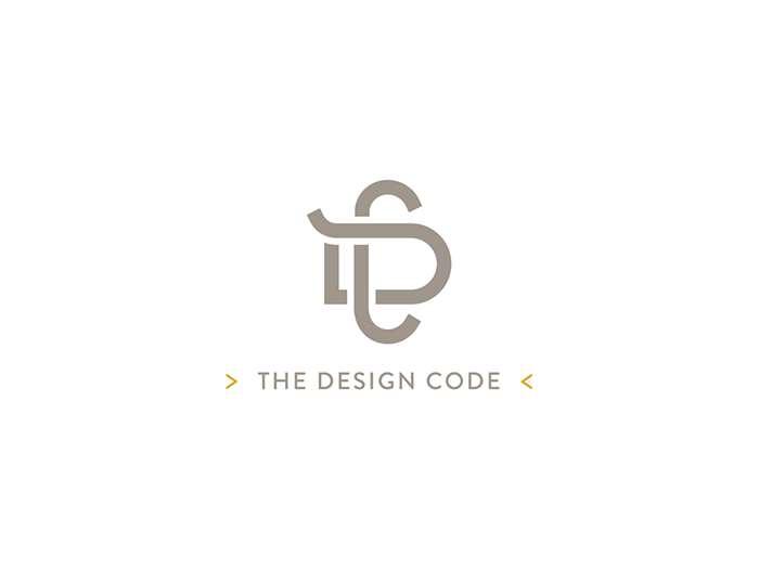 The Design Code Logo & Stationary