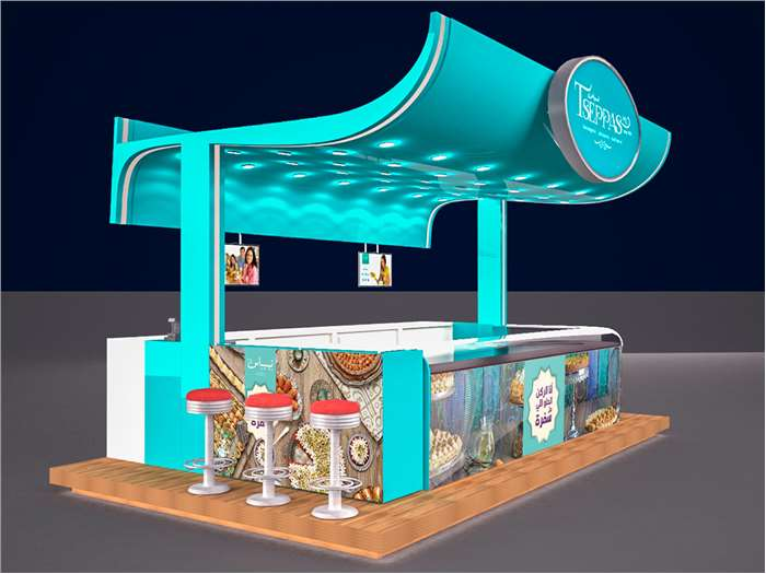 Moled Booth Design