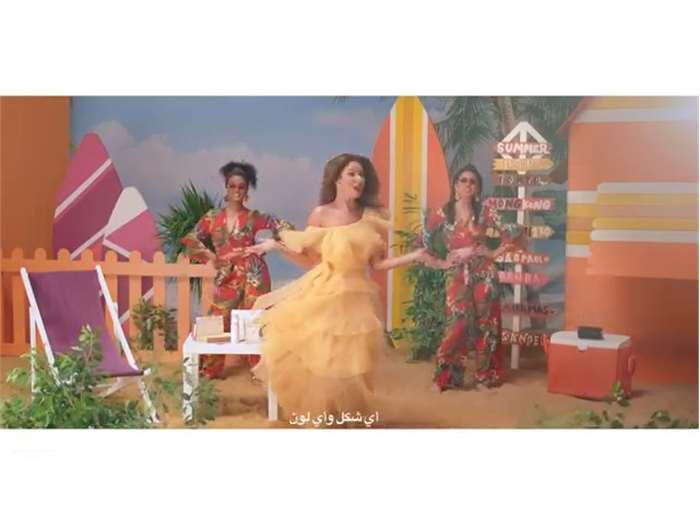 """GKHair Egypt"" campaign starring ""Mai Selim"" Summer Master"