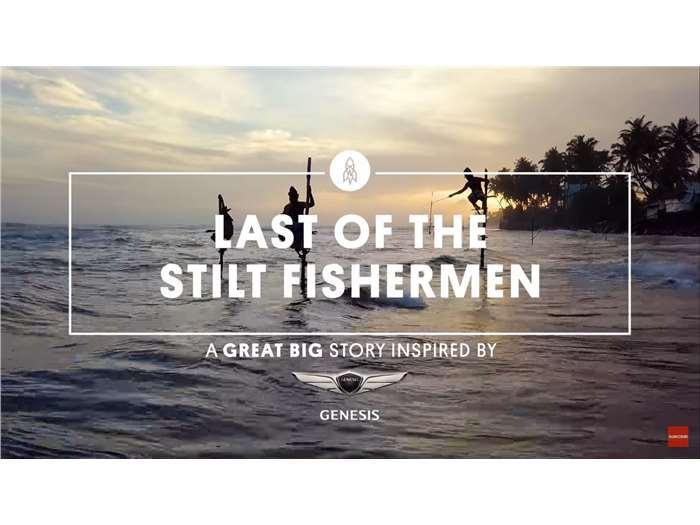 The Last of the Stilt Fishers in Sri Lanka