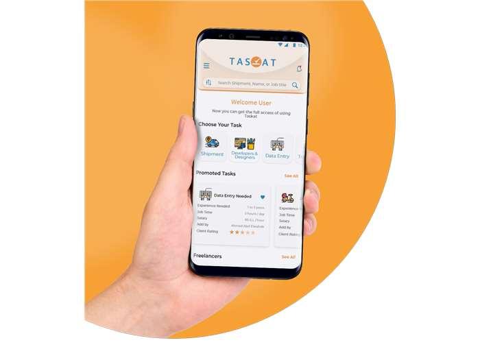 Taskat Mobile App