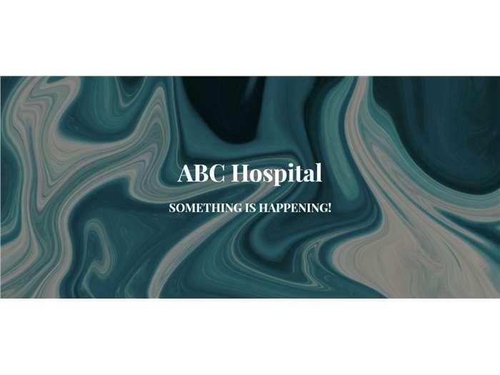 ABC Hospital Website Development